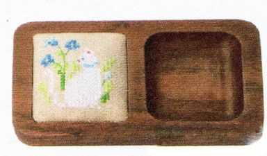 1040315 Игольница  Белая кошка   набор (Xiu Crafts) - Наборы для вышивания «Xiu Crafts»