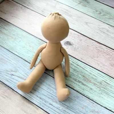 Заготовки и материалы для изготовления игрушки Pugovka Doll Т114 Заготовка куклы, 22 см