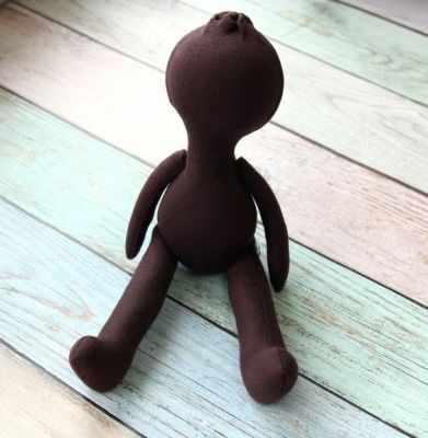 Заготовки и материалы для изготовления игрушки Pugovka Doll Т104 Заготовка куклы, 24 см