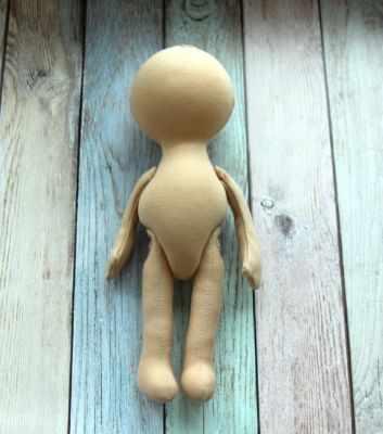 Заготовки и материалы для изготовления игрушки Pugovka Doll Т114 Заготовка куклы, 30 см