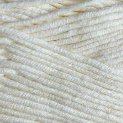 Пряжа YarnArt Пряжа YarnArt Jeans Plus Цвет.03 Молочный