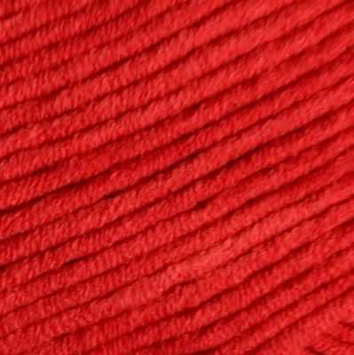 Фото - Пряжа YarnArt Пряжа YarnArt Jeans Plus Цвет.64 Яр.красный пряжа yarnart пряжа yarnart tulip цвет 421 красный