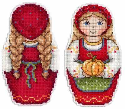 Набор для вышивания МП Студия Р-268 Урожайная осень