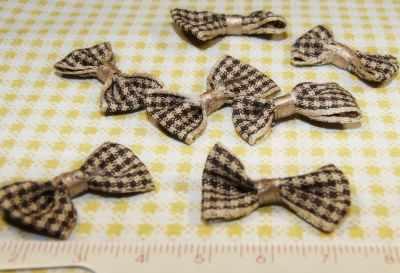 Заготовки и материалы для изготовления игрушки - 20863 Бантики пришивные Б-0086