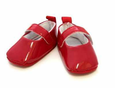 цена Заготовки и материалы для изготовления игрушки - 25271 Туфли лакированные, размер по подошве 7,5см*выс.3см., пара, цв. красн. онлайн в 2017 году