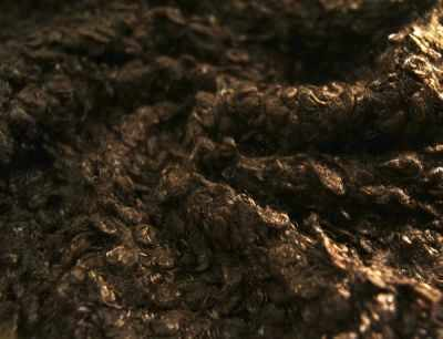 24889 Мех Кудрявый (50 см*50 см), цв. темно-коричневый