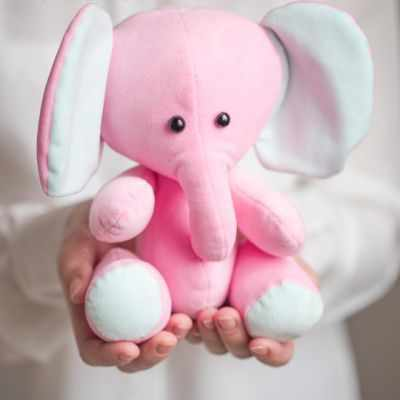 2885055 Набор для шитья по созданию плюшевых игрушек «Плюшевый слоник Лакки»
