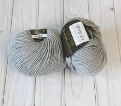 Пряжа Seam Super Tajmahal Цвет.4 Серый