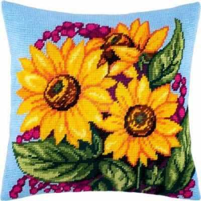 Набор для вышивания Чарiвниця V132 Букет подсолнухов набор для вышивания крестом rto букет хризантем 50 х 40 см