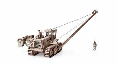 01-01 Конструктор 3D деревянный Lemmo Трубоукладчик