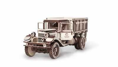00-71 Конструктор 3D деревянный Lemmo Грузовик ГАЗ-АА Кузов