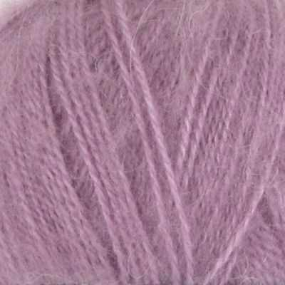 Пряжа Nako Mohair delicate Nako Цвет.6114 Светлая пыльная сирень