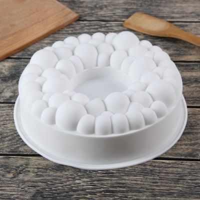 2854650 Форма для выпечки и муссовых десертов Морская пена, цвет белый