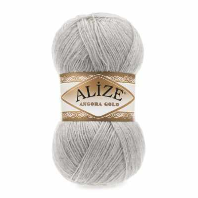 Пряжа Alize Пряжа Alize Angora Gold Цвет.652 Натурально-серый