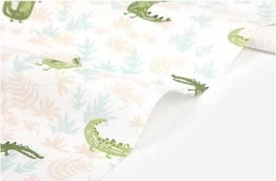 277 Крокодилы на светлом (45*55 см)