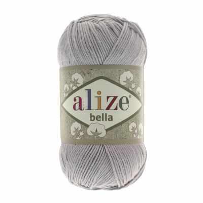 Пряжа Alize Пряжа Alize Bella Цвет.21 Св. серый