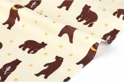 Ткани Dailylike 171 Медведи (45*55 см)