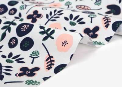 Ткани Dailylike 497 Цветы в дали (45*55 см)