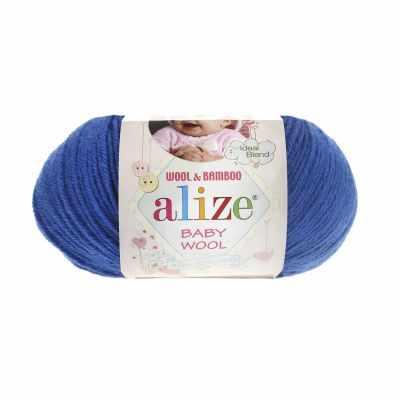 Пряжа Alize Пряжа Alize Baby Wool Цвет.141 Василек