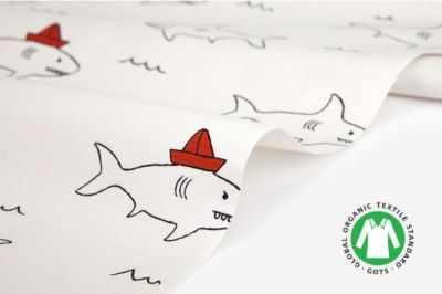 Ткани Dailylike 478 Акулы (45*55 см)