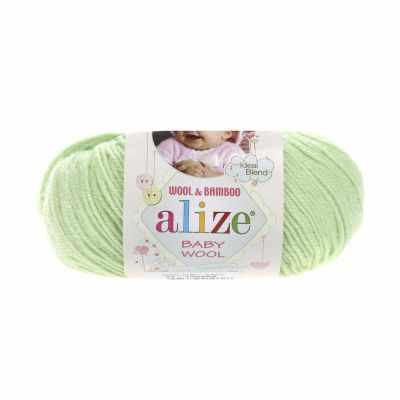 Пряжа Alize Пряжа Alize Baby Wool Цвет.41 Мята