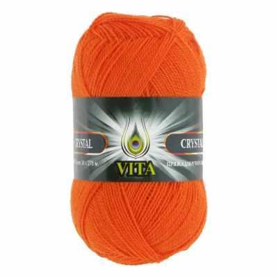 Пряжа VITA Пряжа VITA Crystal Цвет.5679 Оранжевый