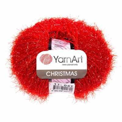 Пряжа YarnArt Пряжа YarnArt Christmas Цвет.011 Красный