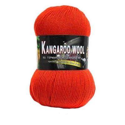 Пряжа Color City Kangaroo wool Цвет.2222 Алый