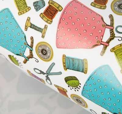 Бумага для упаковки подарков - 3385522 Бумага упаковочная глянцевая