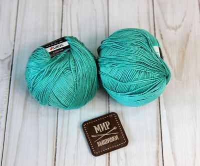 Пряжа Seam Пряжа Seam Premium Silk Цвет.16 Бирюза