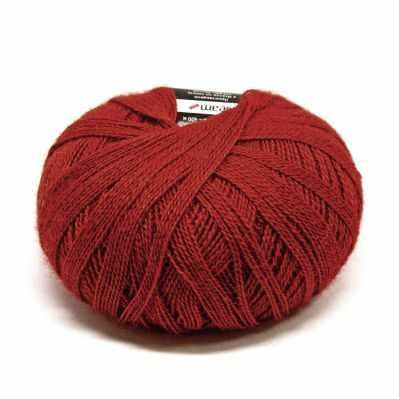 Пряжа Seam Пряжа Seam Alpaca baby lux Цвет.22 т.красный