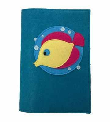 Набор для детского творчества Santa Lucia 3048 Обложка на книгу «Рыбка»