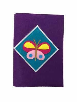 Набор для детского творчества Santa Lucia 3049 Обложка на книгу «Бабочка»
