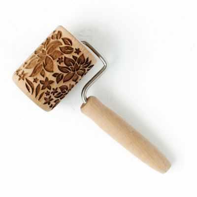 Ролик с узором  Аленький цветочек  - Инструменты для выпечки