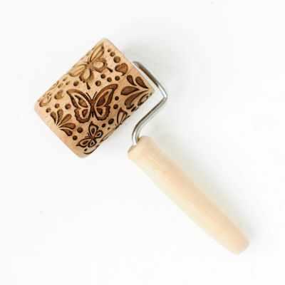 Ролик с узором  Бабочки-красавицы  - Инструменты для выпечки