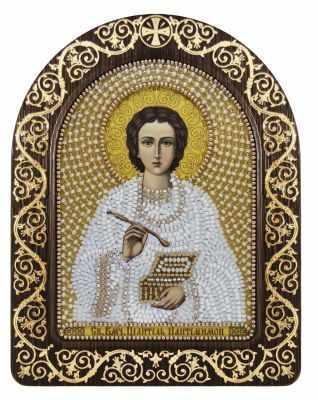 Набор для вышивания иконы Nova Sloboda СН 5005 Св. Вмч. Целитель Пантелеимон набор для вышивания иконы nova sloboda се 7108 св великомученик и целитель пантелеймон