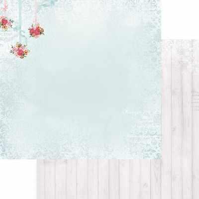 FD1006703 Лист бумаги для скрапбукинга На крылечке летом, коллекция Зефир
