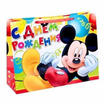 Подарочный конверт Disney 1433322 Пакет ламинированный горизонтальный