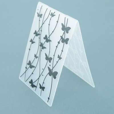 2513894 Трафарет для эмбосирования пластик Бабочки