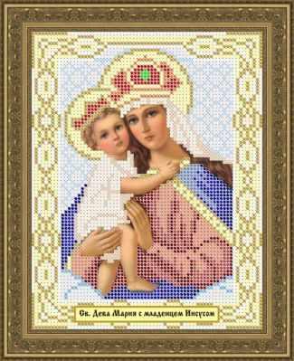 Основа для вышивания с нанесенным рисунком Матрёшкина КАЮ1061 Мадонна с младенцем - схема для вышивания (Матрёшкина) основа для вышивания с нанесенным рисунком матрёшкина каю6016 лисичка