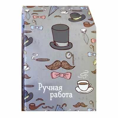 903046 Декоративная упаковка Шляпы и сигары (коробочка вертикальная)
