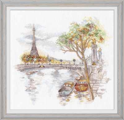 Набор для вышивания Овен 1044 Осень в Париже
