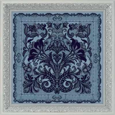 Фото - Набор для вышивания Риолис (Сотвори Сама) 1700 Панно/подушка Испанское кружево набор для вышивания риолис сотвори сама 1600 подушка панно венское кружево