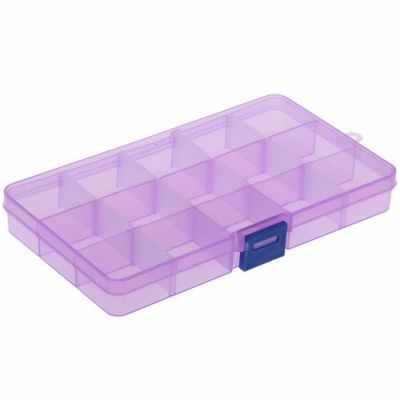 Органайзер - 896522 Бокс для хранения, 15 отделений, цвет микс