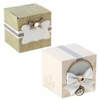 Декоративные элементы для подарков Арт Узор 1193214 Набор для декорирования бонбоньерки