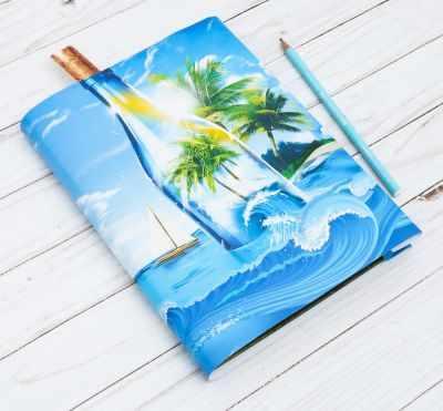 2966726 Обложка для книги с закладкой Море