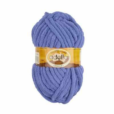 Пряжа Adelia Dolly 20 синий