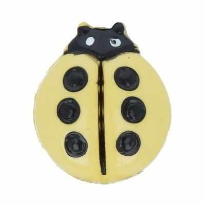AY 8100 20 Пуговицы детские №D346 желтый, 6 шт