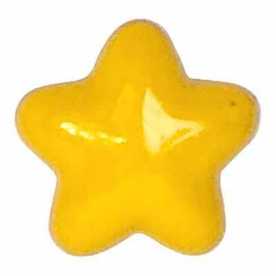 AY 9700 24 Пуговицы детские №D506 ярко-желтый, 6 шт