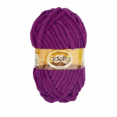 Пряжа Adelia Dolly 29 т.фиолетовый